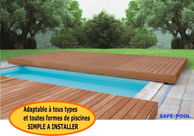 plancher mobile pour piscine safe pool terrasse. Black Bedroom Furniture Sets. Home Design Ideas