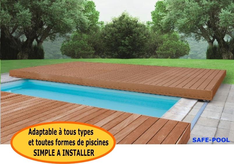 Safe pool partenaires - Piscine sous terrasse amovible ...